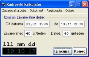 Kadrovski kalkulator